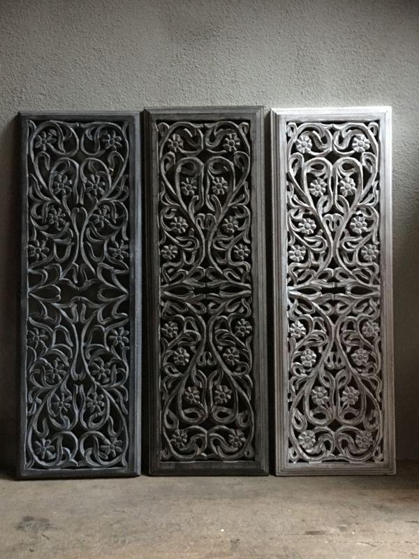 Houten Panelen Wanddecoratie.Stoer Landelijk Oud Houten Wandpaneel Ash Grey Grijs Grijze