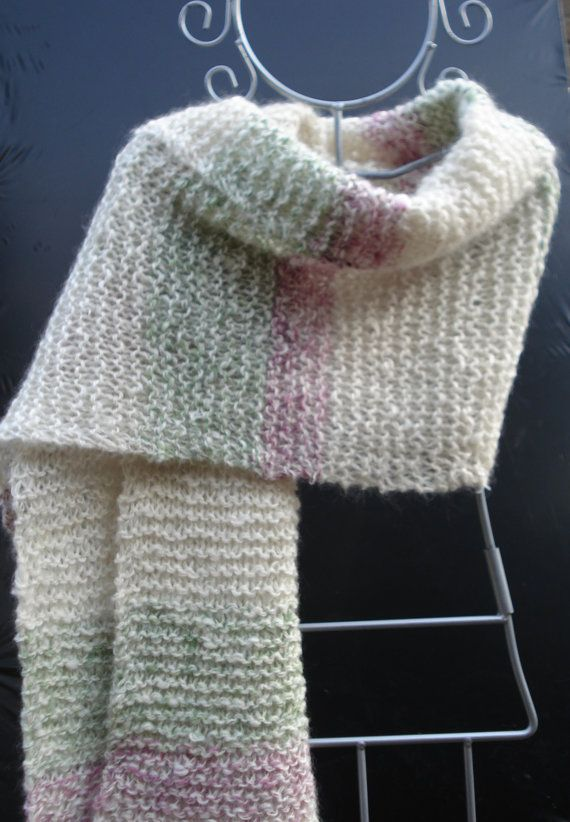 Grof gebreide sjaal van miekeswolwerk op Etsy