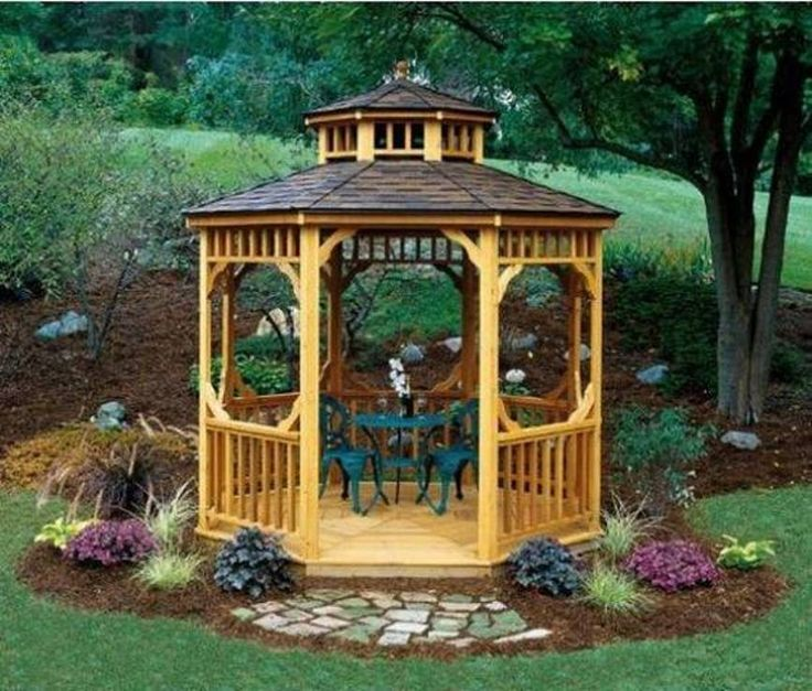 Small Garden Gazebo Ideas | Home Exterior Design Ideas