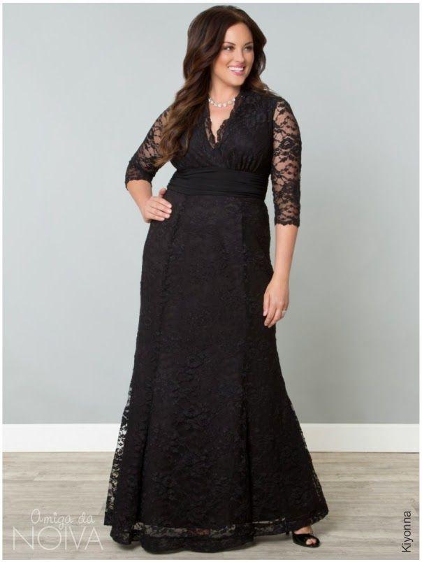Ser do manequim Plus Size não é motivo pra não se vestir com elegância e estilo. As mulheres fofinhas podem vestir looks adequados para sua silhueta e brilhar numa festa!