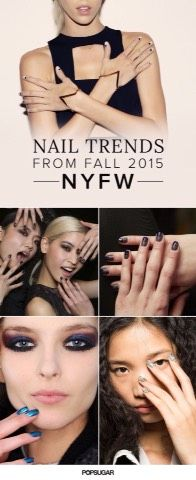 Nail Trend For Fall 2015 -NYFW-#fallnails #Beauty #Trusper #Tip
