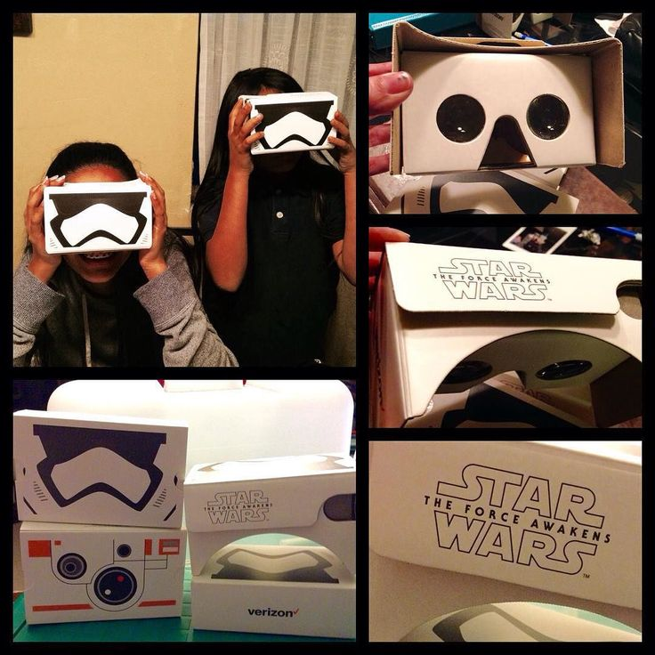 An awesome Virtual Reality pic! This has nothing to do with my art but it is truly ART !!! It's STAR WARS !! Verizon is giving away Google VR cardboard StarWars headsets to their customers only !! There are 4 designs will trade (StormTroopers) I need R2D2 and Kylo Ren !! #starwars #theforceawakens #verizon #google #virtualreality @itslanaa @blkbx @miserylovesco510 @nekroxnikki @driller3746 @oahuson @kaikreates @newstory_art tell Justine !! by skeleteenah check us out: http://bit.ly/1KyLetq