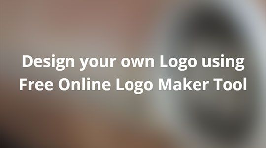 Design your own Logo using Free Online Logo Maker Tool #productreviews ...