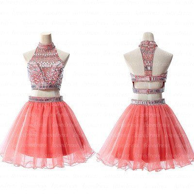 Prom Dresses, Homecoming Dresses, Sexy Dresses, Coral Dresses, Sexy Prom Dresses, Coral Prom Dresses, Beaded Dresses, Sexy Homecoming Dresses, Dresses Prom, Beaded Prom Dresses, Coral Homecoming Dresses