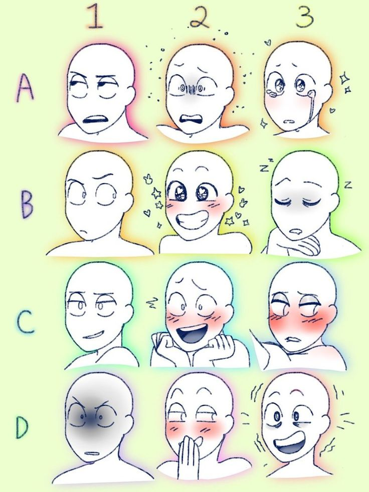 MORE EXPRESSIONS! by BluebirdsandCanaries
