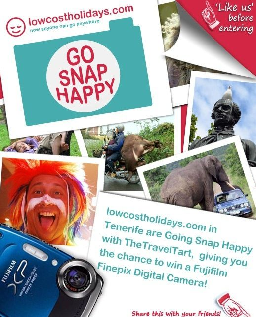 Win A Camera Contest with Low Cost Holidays | The Travel Tart Blog