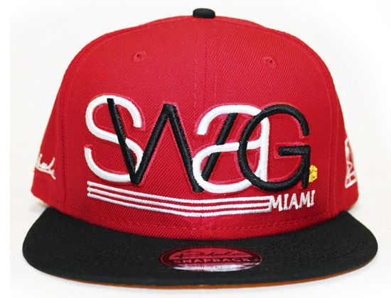 "REBUL COLLECTION ""Swag"" Snapback Cap"