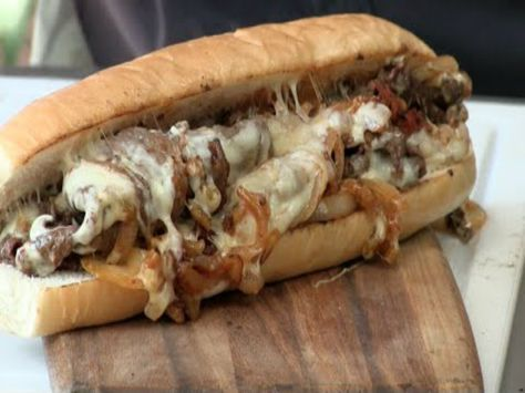 A very simple version of the famous cheesesteak sandwich cooked up with some SoCal and Baja flavors. GETTING READY Preheat the grill electric skillet or a...