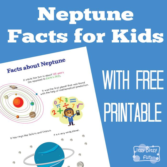 Neptune Facts for Kids