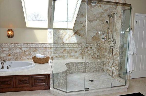Badezimmer in Dachschräge  Badezimmer  Pinterest