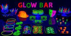 Black Light Party Supplies - Glow in the Dark Party Ideas - Party City