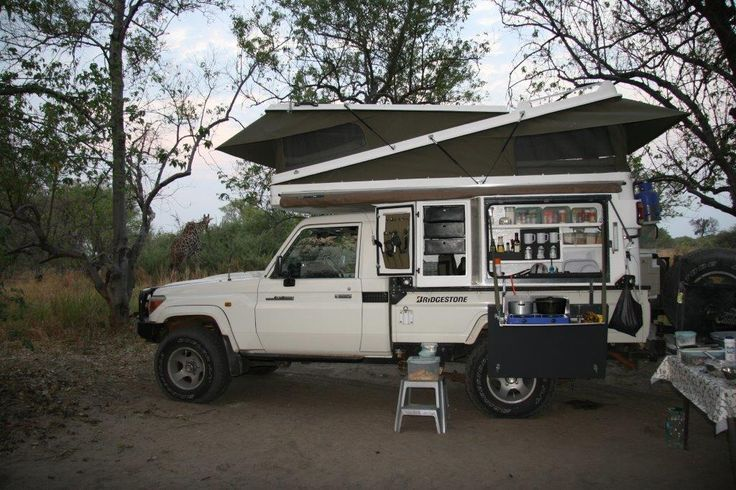 Abba Campers in Botswana