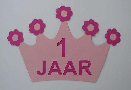 """Kroon """"bloemen en tekst met achterkant"""" Images - Frompo"""