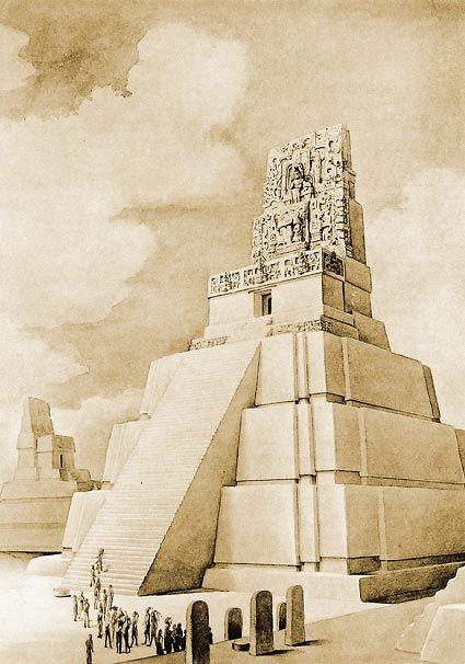 reconstruction at tikal - Bing Images