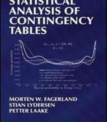 Statistical Analysis Of Contingency Tables PDF