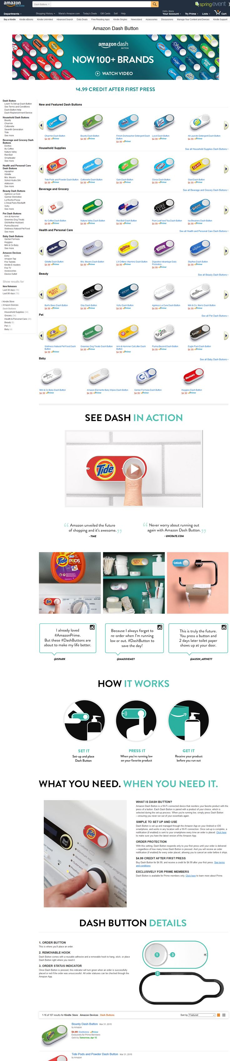 "Amazon ""dash button"""