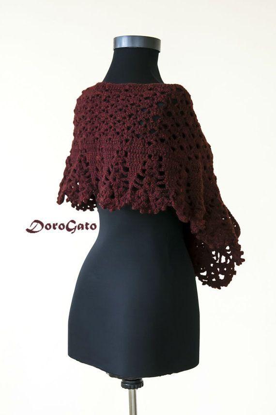 #Crochet #shawl #pattern #stole #woman #scarf #diagram #stole #wraps #etsy #trim