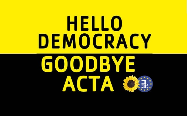 Goodbye ACTA @Gerardo Enrique Garibay Camarena asi o más claro!