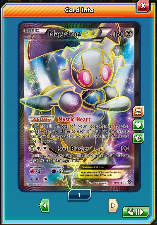 FA Magearna-EX 110/124 - Pokemon Trading Card Game PTCGO Digital card online | eBay #ptcgo #pokémon #pokémontcgonline #shop #ptcgonline #pokémontcgo #trading #card #cards #game #online #pokémontcg