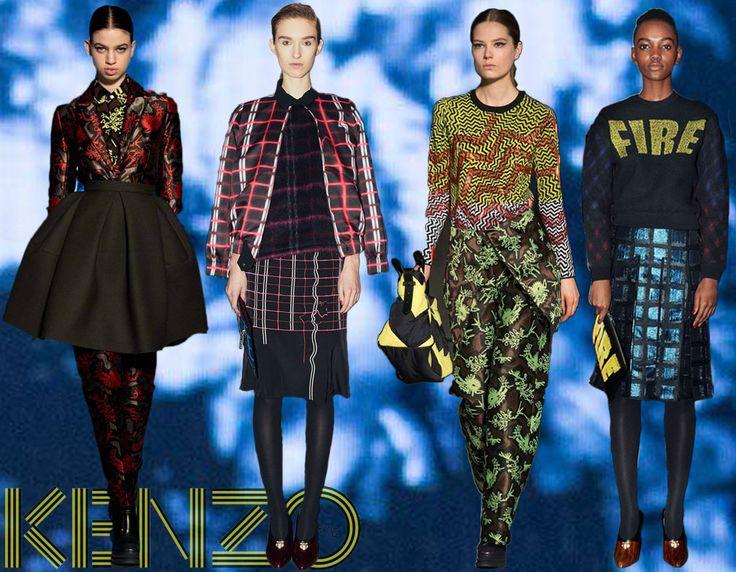 Sale: Kenzo Autumn / Winter '14  Shop Now at 50% OFF > http://www.bernardboutique.com/shopping/sale/search/schid-6b656e7a6f/items.aspx