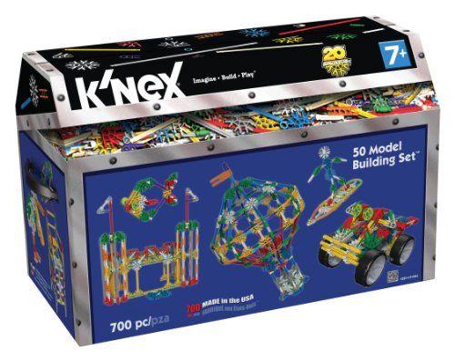 K'NEX Classics 50 Model Building Set - http://www.tutorfrog.com/knex-classics-50-model-building-set-6/  #Toys #cooltoys