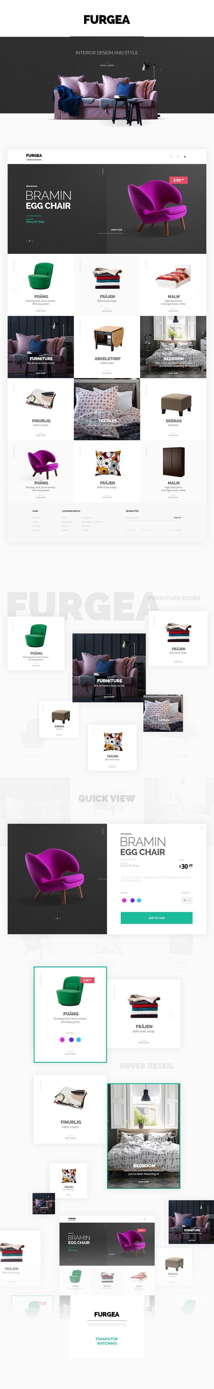 Furgea.Modern Furniture Shop.