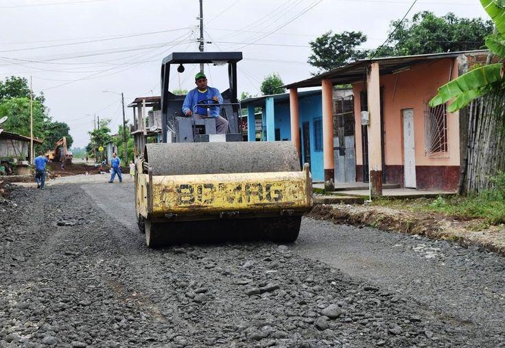 portalxv,com | Los Ríos: En Buena Fe vías del recorrido de los buses urbanos serán asfaltadas