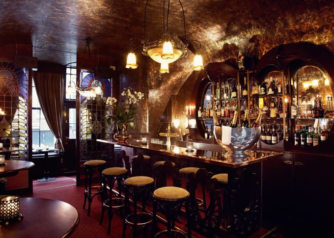 De Belhamel Restaurant, Amsterdam, Netherlands. This restaurant really is one of my very favorite places.