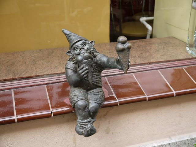 Wrocław is full of dwarves. They hide among the streets and narrow alleys, eluding the sight of passers-by