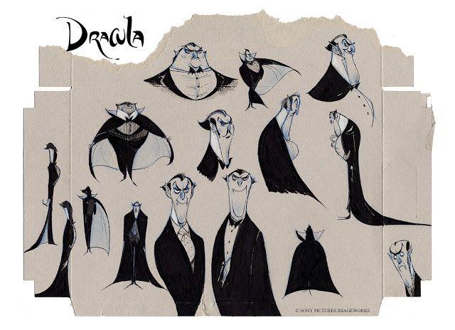 Character Design Hotel Transylvania : Arte y animación grangel studio hotel transylvania