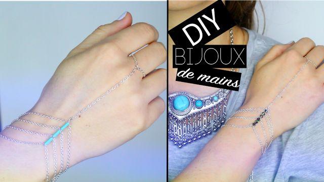 DIY : Bracelet de main, LE bijou de l'été