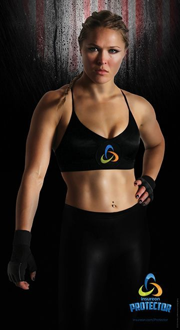 Want to be 1 of the 5 to win this first EVER awesome poster of Ronda Rousey as the insureon Protector? Click the pic to enter!