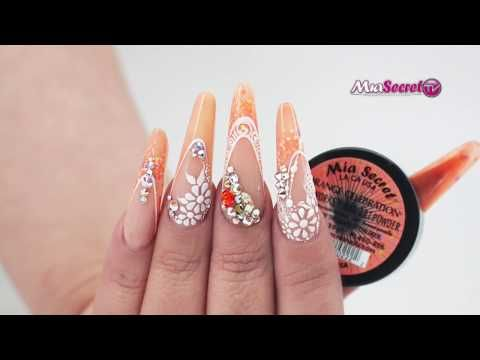 Diseño con Gel Paint y Plastiline - YouTube | Disenos de ...