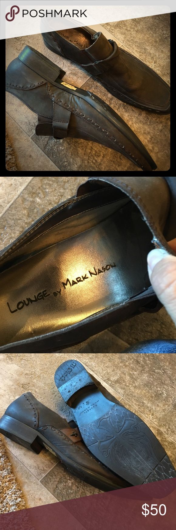 Awesome men's shoes Lounge by mark basin size 13 worn once. Excellent t condition Shoes Loafers & Slip-Ons
