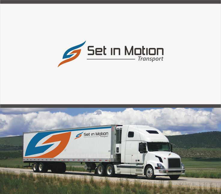 Logo design for Set In motion !  A Cargo transport company by HNY DESIGN
