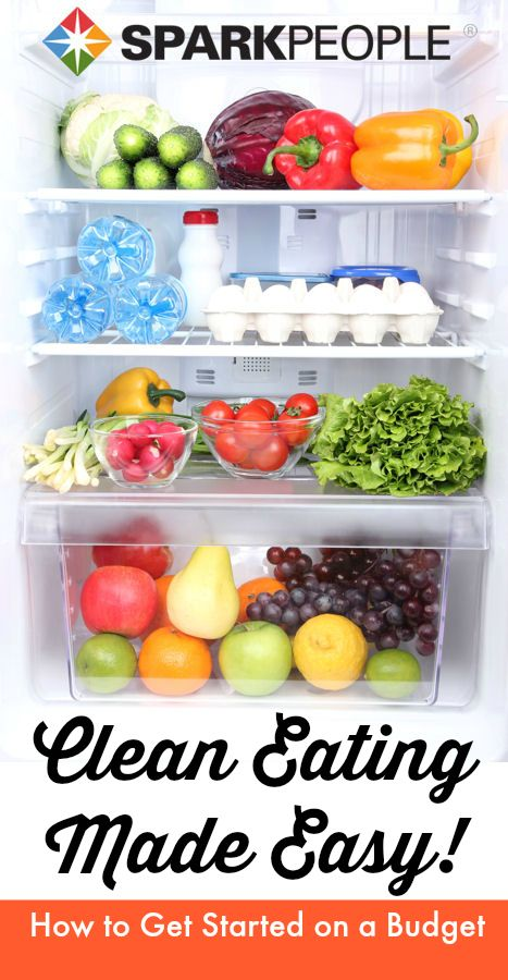 Clean Eating for Beginners: A realistic approach to better nutrition! | via @SparkPeople @The Gracious Pantry (Tiffany McCauley) #food #diet #healthy