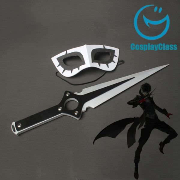 Persona 5 JOKER Kurusu Akira Dagger Cosplay Weapon and Mask Prop – CosplayClass  #Persona5 #KurusuAkiracosplay #cosplayclass #costume