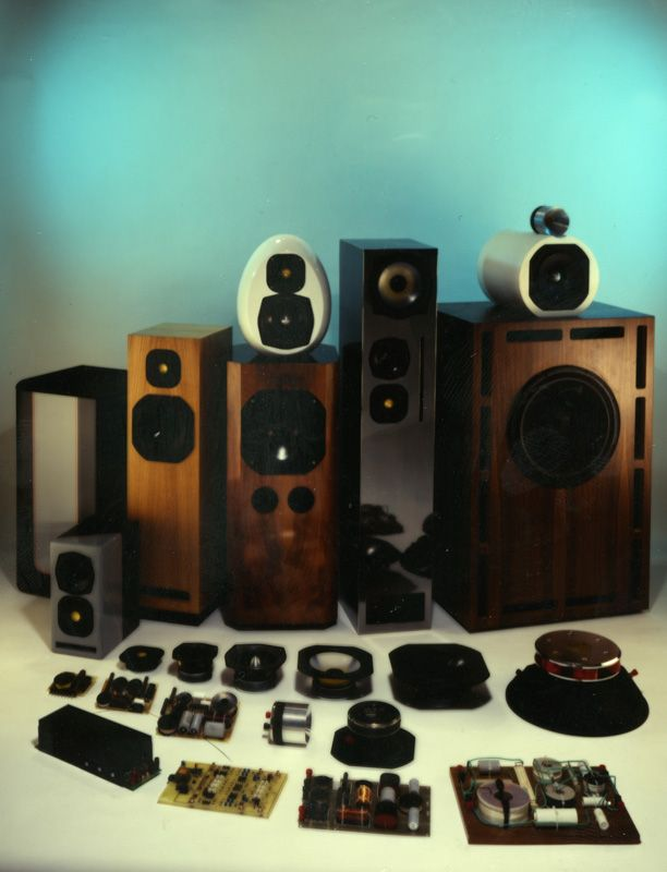 JMlab loudspeakers.  I build nearly all of these designs in the mid 80's and early 90's.  Absolutely loved Focal drivers.  Accuton were the only drivers I liked more but the cost was so prohibitive.