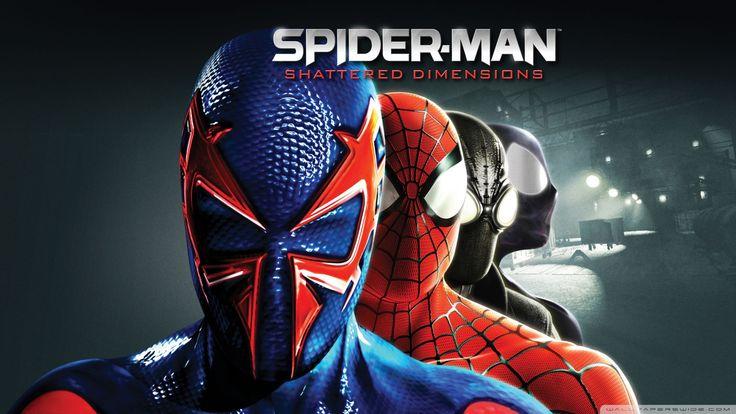 Spiderman Shattered Full HD Wallpaper For Desktop beautiful gallery hd