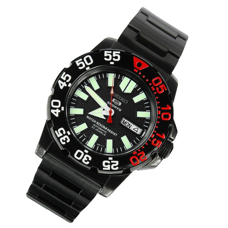A-Watches.com - Seiko 5 Sports Automatic Divers Watch SNZF53K1 SNZF53, $143.00 (http://www.a-watches.com/seiko-5-watch-snzf53k1/)