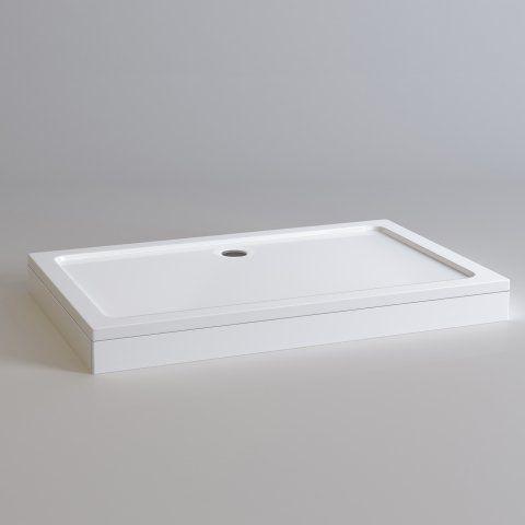 1400x900mm Rectangular Easy Plumb Stone Shower Tray - soak.com