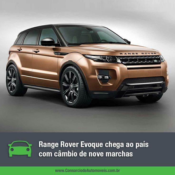 Acesse a matéria e saiba tudo sobre o novo Range Rover Evoque: https://www.consorciodeautomoveis.com.br/noticias/range-rover-evoque-2014-em-ate-120-meses-sem-juros?idcampanha=206&utm_source=Pinterest&utm_medium=Perfil&utm_campaign=redessociais