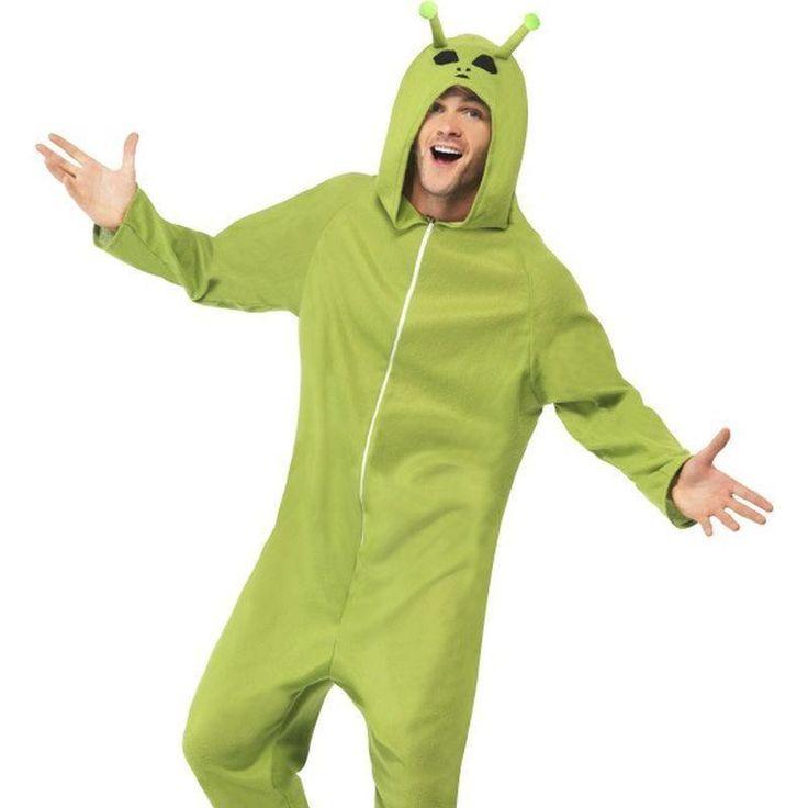 Alien Costume Adult Green