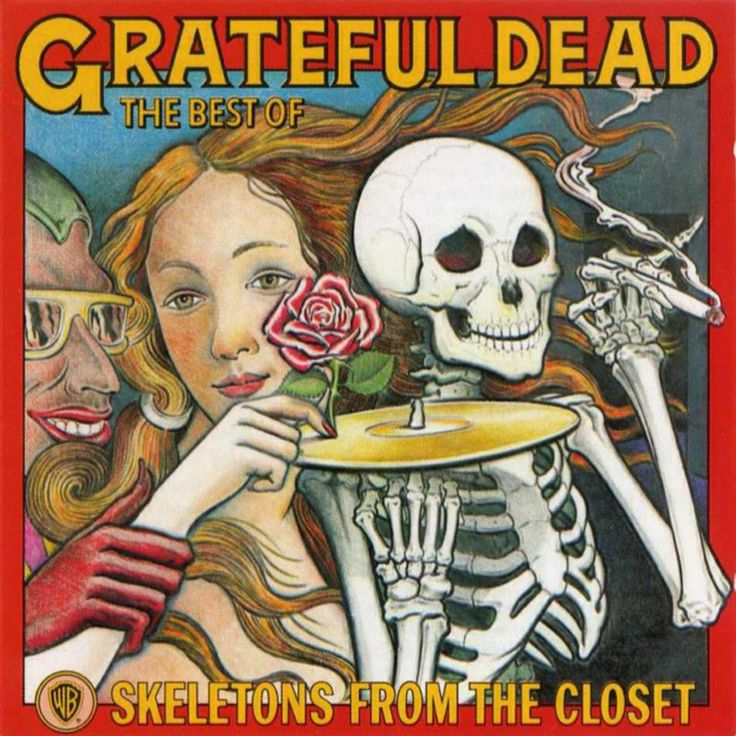 Album cover Project The Grateful Dead Pinterest