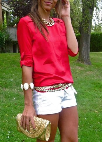 Dressy Shorts & Top