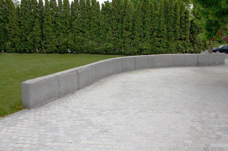 Köp Blockstensmur Granit - Stenbolaget