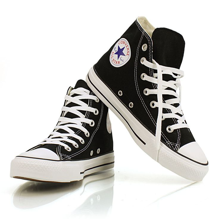 The shoe that revolutionized how the game of basketball was played, these classic  Chuck Taylor ® All Star Hi Tops are for all ages.