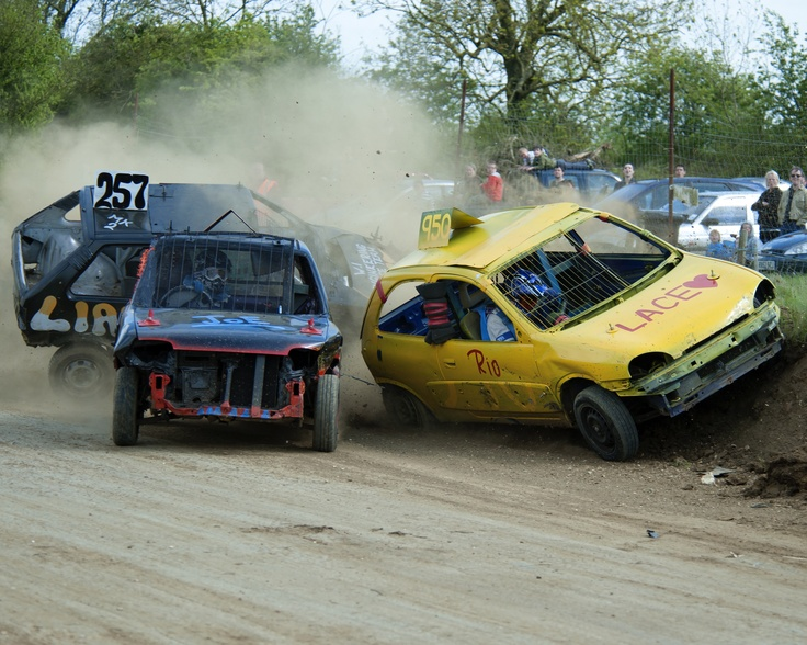 """Stansted Raceway """"banger racing"""""""