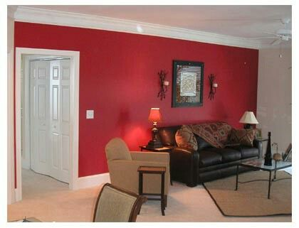 A Red Wall Is Just Classic I Love My