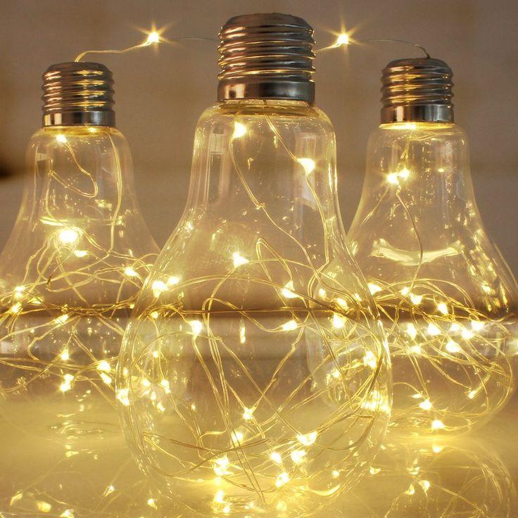 100 led exterieur koopower guirlandes lumineuses piles for Guirlande lumineuse blanche exterieur